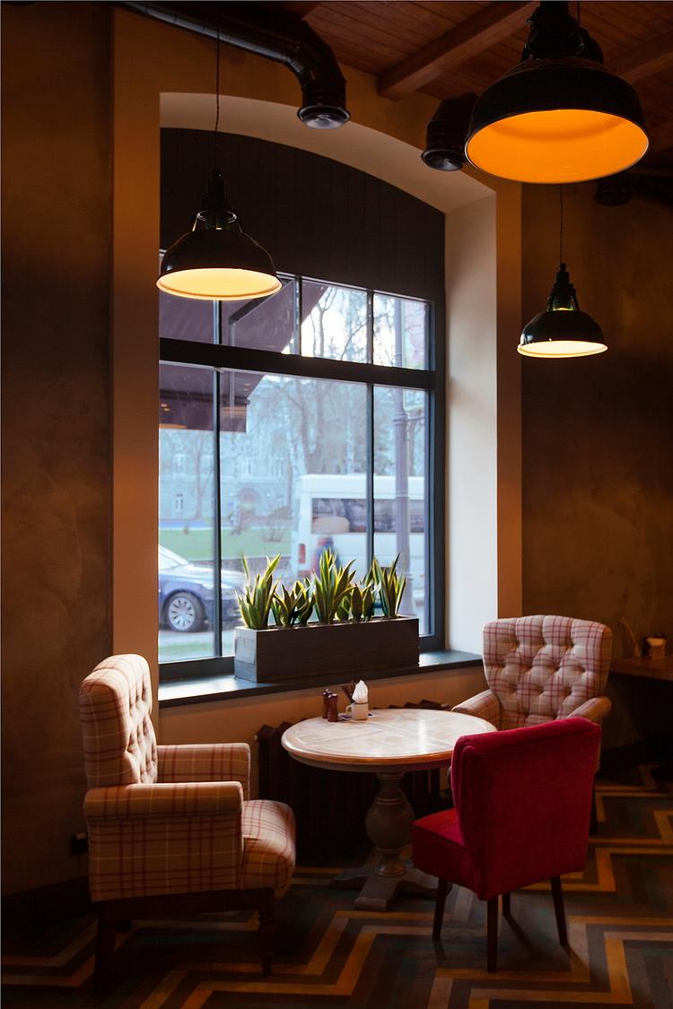 Pasta Basta Restaurant By SobolevaStorozhuk Design