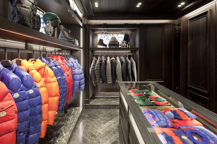 sofa and more extra large cushion covers for new moncler boutique in venezia by gilles & boissier