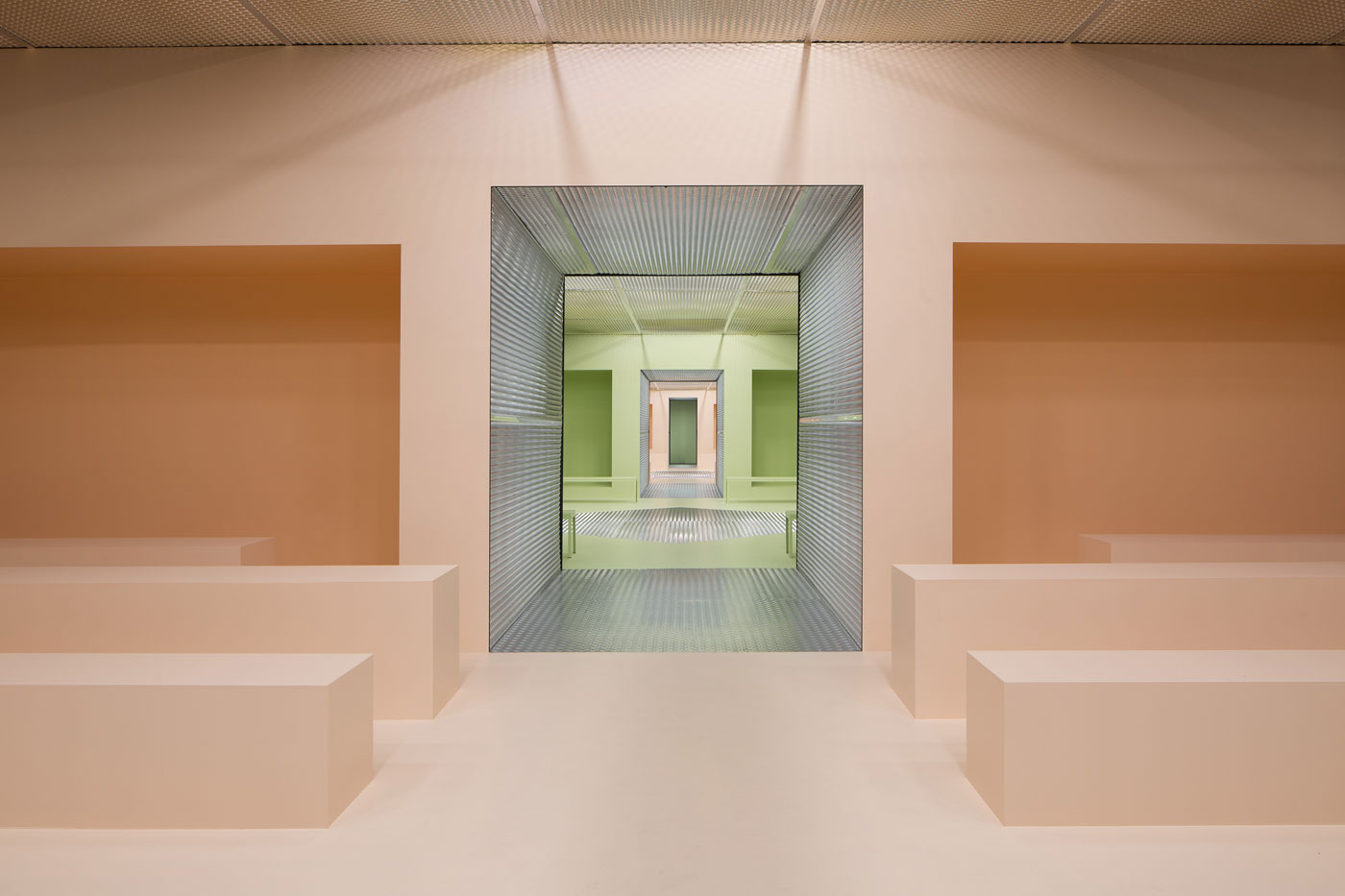 AMO Teams Up With Prada To Design The Infinite Palace