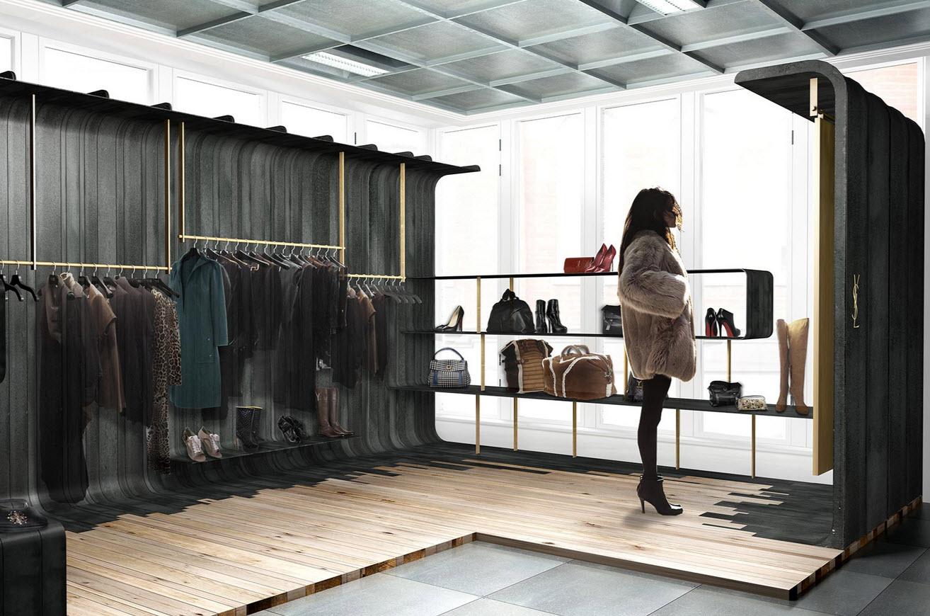 Yves Saint Laurent Store in London by Cigu