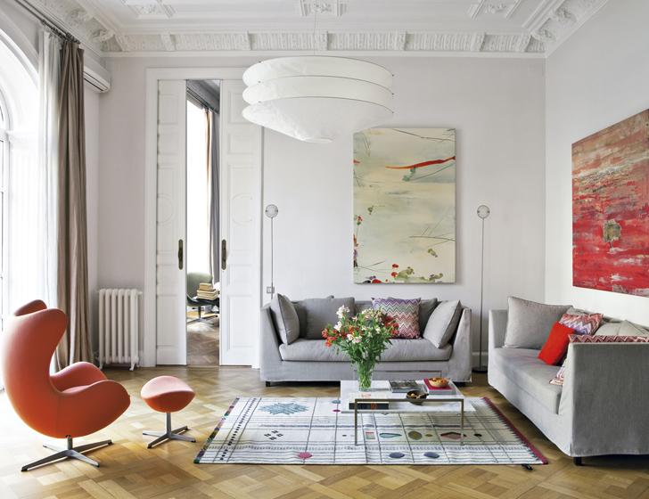 Culture Clash in stylish Barcelona Apartment  Archiscene