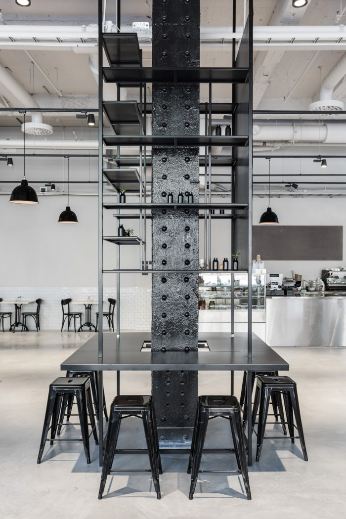 Usine Restaurant Interior by Richard Lindvall  Archiscene  Your Daily Architecture  Design Update