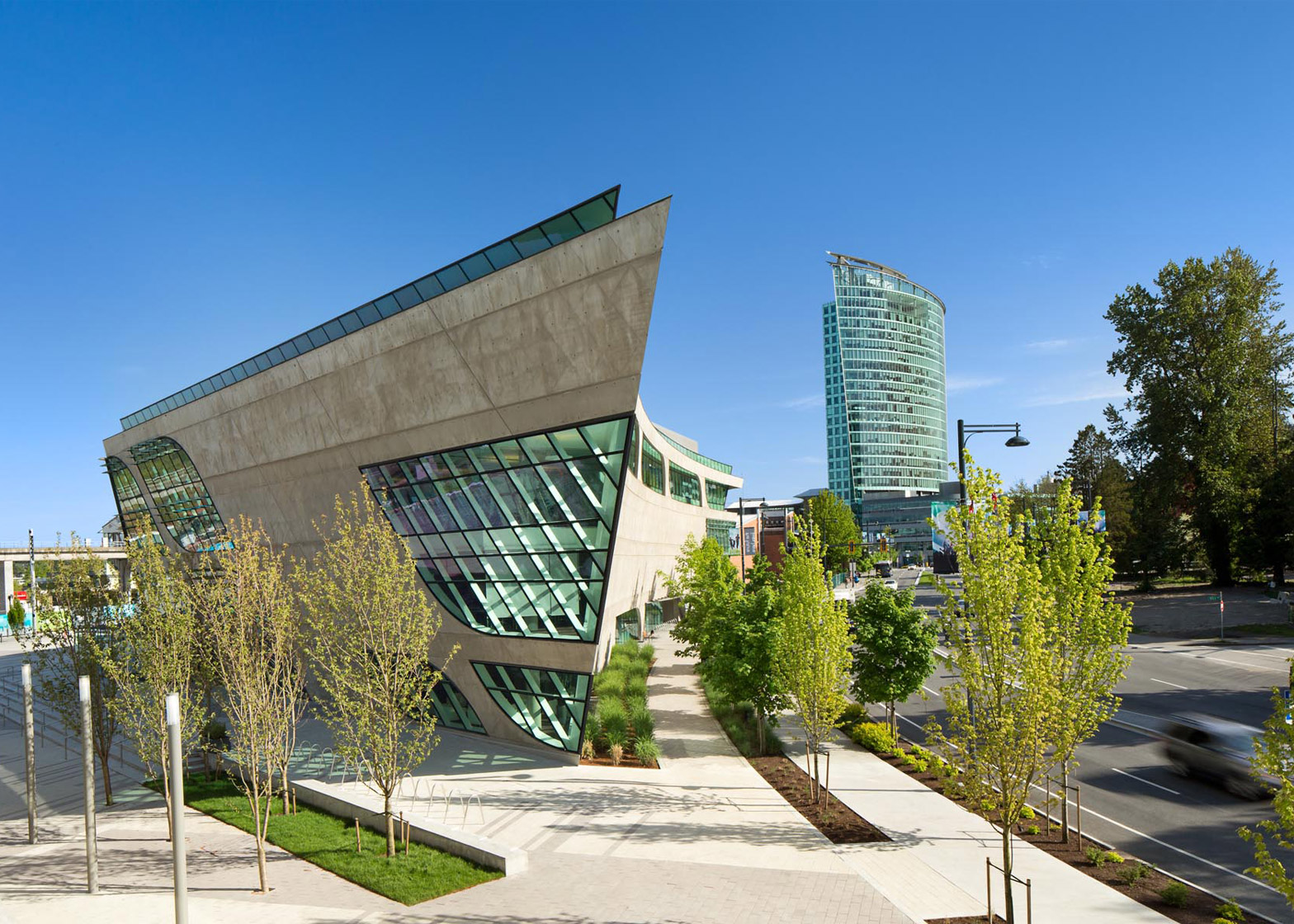 Surrey City Centre Library by Bing Thom Architects  Archiscene  Your Daily Architecture