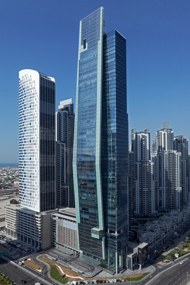 Vision Tower at Business Bay by tvsdesign  Archiscene  Your Daily Architecture  Design Update