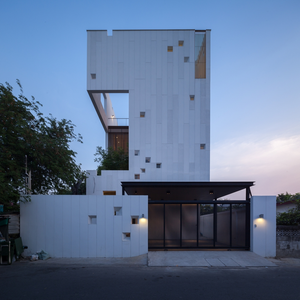 Aperture House by StuDO  Archiscene  Your Daily