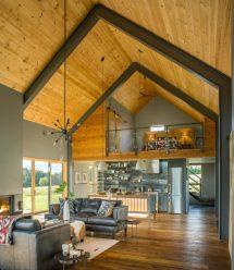 Modern Barn Joan Heaton Architects - Archiscene