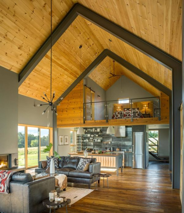 Modern Barn by Joan Heaton Architects - Archiscene - Your ...