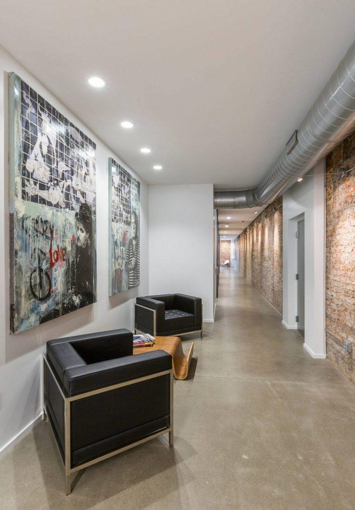 sofa table long narrow latest wooden set designs 2018 mcalpin loft by ryan duebber architect - archiscene your ...