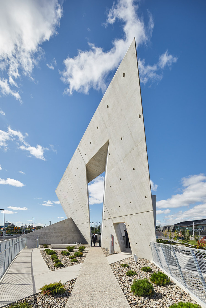 National Holocaust Monument By Studio Libeskind