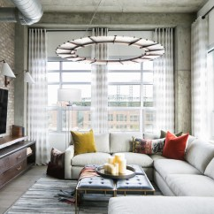 Living Room Sofa Design 2017 Black Friday Bed Deals Uk Loft-style Condo In Denver By Robeson - Archiscene