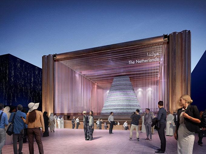 Design of Dutch pavilion for Dubai EXPO 2020 unveiled