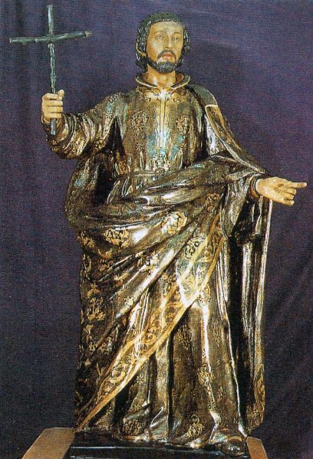 UNA IMAGEN DE SAN FRANCISCO JAVIER DE JUAN DE MESA  Archidicesis de Sevilla