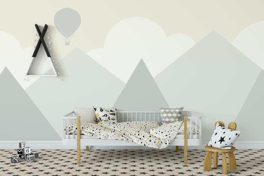 decorare le pareti della camera da letto o della cameretta. 8 Immagini Su Come Decorare Le Pareti Della Cameretta Dei Bambini Archisio