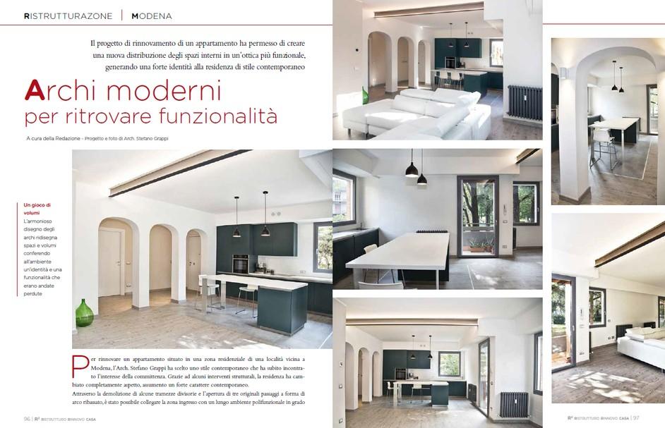 """Contextual translation of """"distribuzione degli spazi interni"""" Archi Moderni Per Ritrovare Funzionalita Ristrutturo E Rinnovo Casa Giugno Luglio 2020 Archistudio832"""