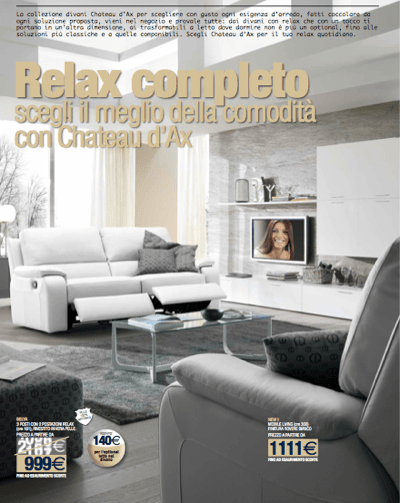 chateau d'ax 1681 transitional leather sofa with rolled arms and for divani chateau d'ax leather sofas view photo 4 of 20. Chateau D Ax Offerte Catalogo 2012 Archistyle