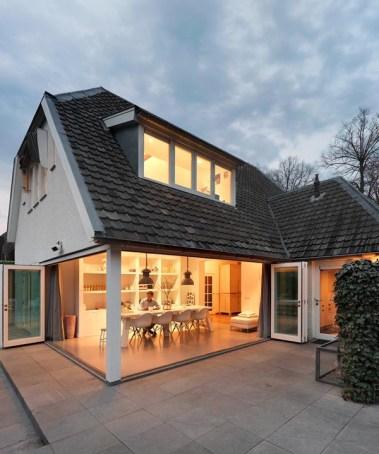 uitbreiding landelijke villa Breda