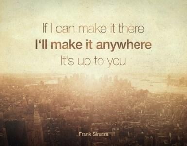 NY. Frank Sinatra