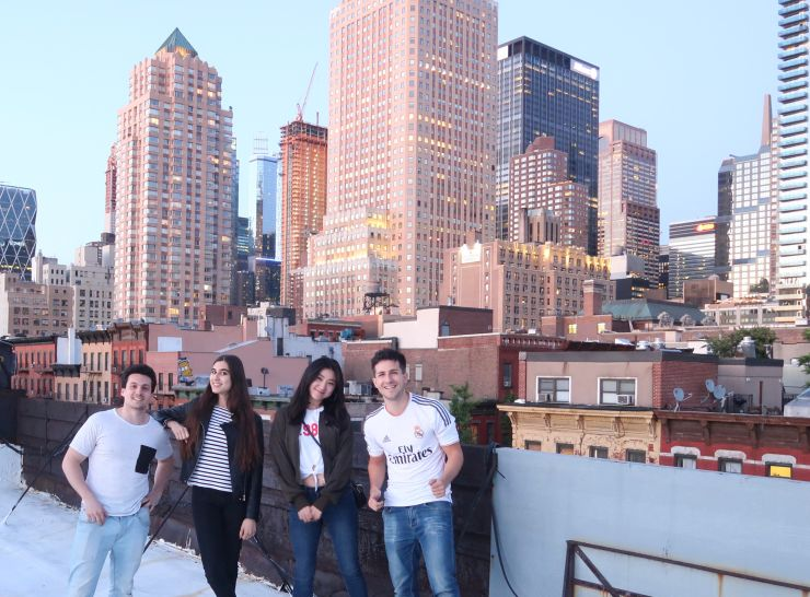 first month in New York as J1 Visa