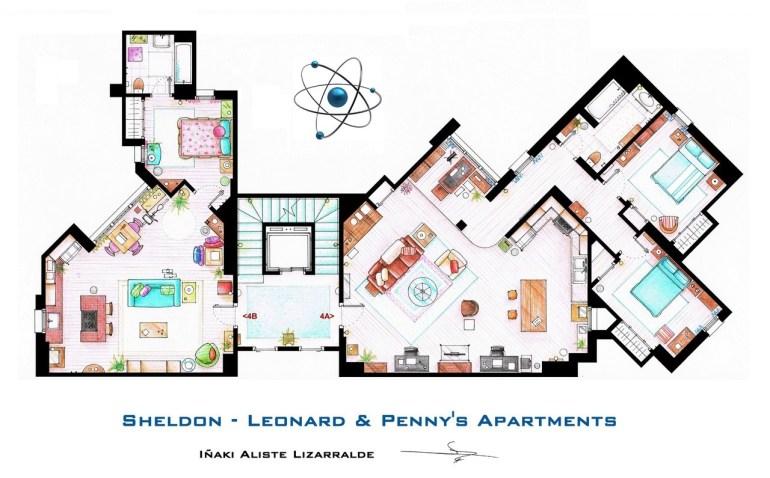 sheldon__leonard_and_penny_apartment