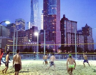 Volleyball in New York