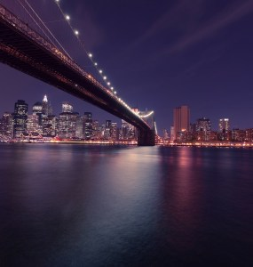 Bridge Beautiful View Nightime