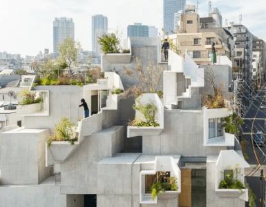 Tokio House concrete