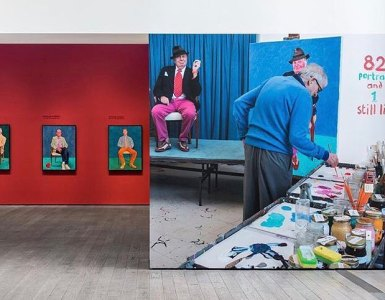 David Hockney Pace Gallery NY