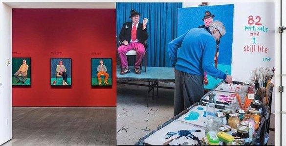 David Hockney Pace Gallery NY