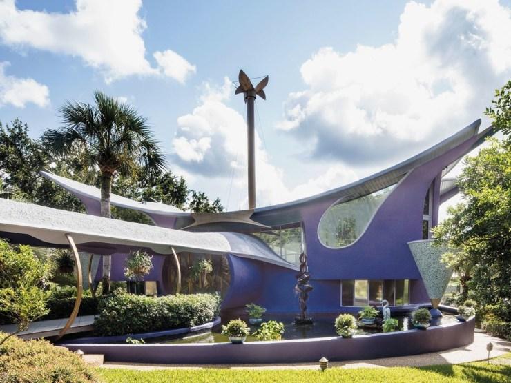 Lavender house _ Bruce Goff
