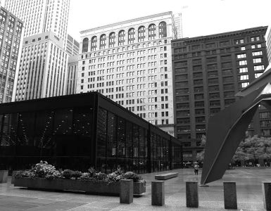 modern architecture in Chicago