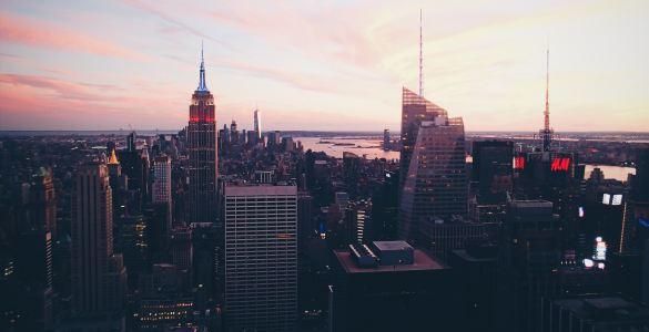 Rockefeller Center on Christmas