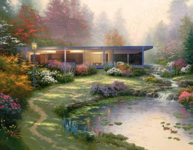 Modern architecture as a Painting