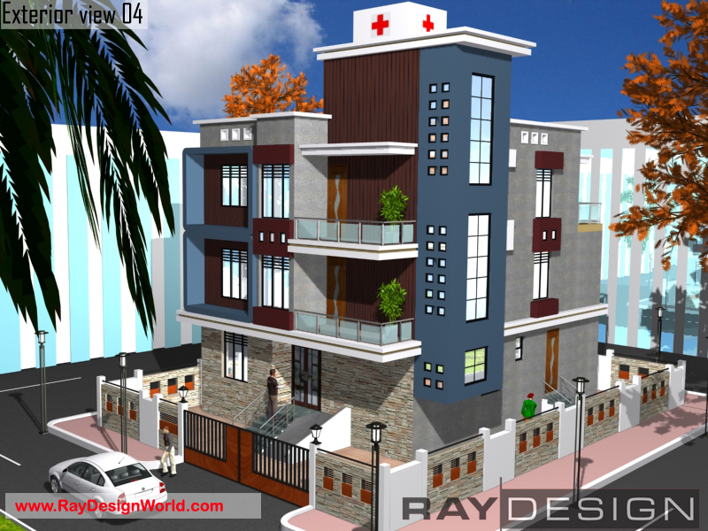 Hospital designs by ray design world