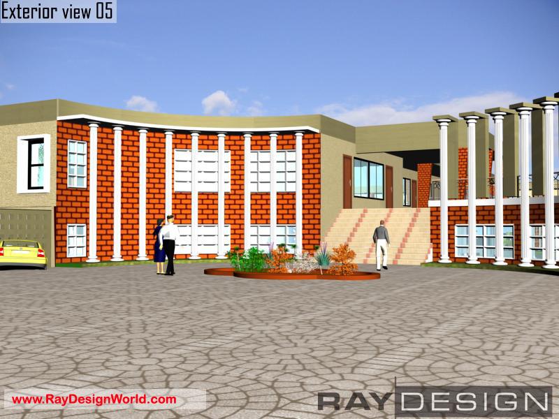 Best School Design in 81600 square feet- 02