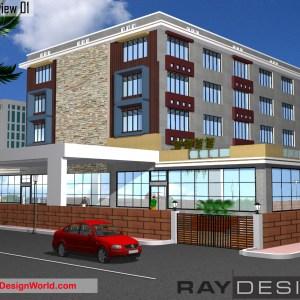 Best Hotel Design in 24600 square feet - 05