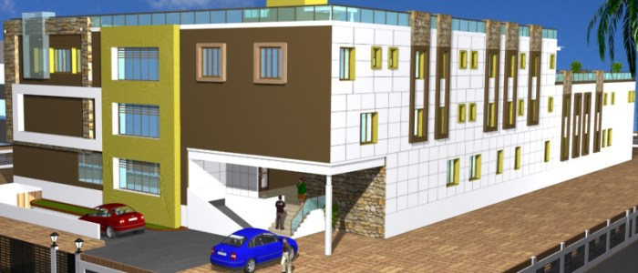 Best Hospital Design in 128231 square feet - 19