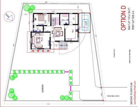 Best Residential Design in 59512 square feet - 72