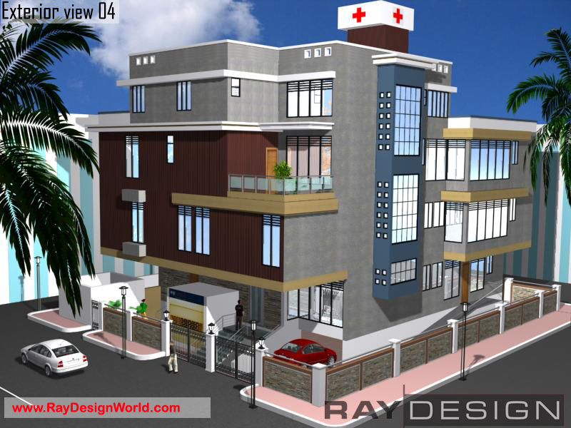 Best Hospital Design in 5600 square feet - 13