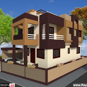 Capton Arul - Chennai - Bungalow Design