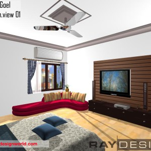 Anant goel -muzzafarnagar- bed room interior