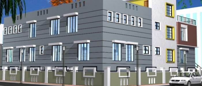 Best Hospital Design in 9775 square feet - 17