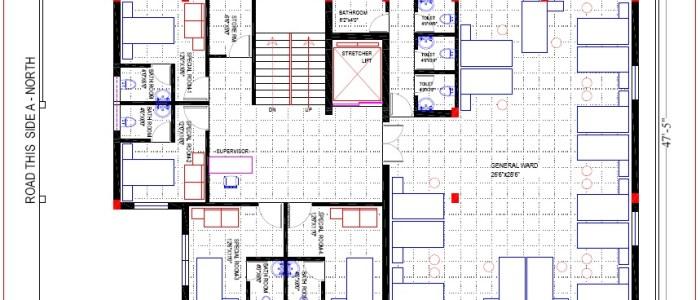 Best Hospital Design in 3432 square feet - 02