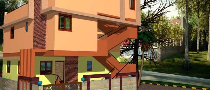 Best Residential Design in 1219 square feet - 13