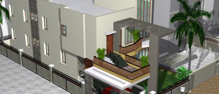 Best Residential Design in 2340 square feet - 31