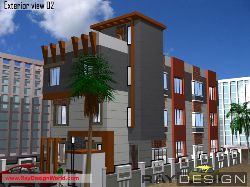 Best Commercial Complex Design In 2688 Square Feet 05 Architect