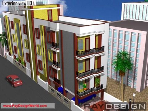 OmPrakashSahu-Nawada-Bihar-ApartmentProject