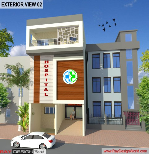 Hospital Design - Floor Plans