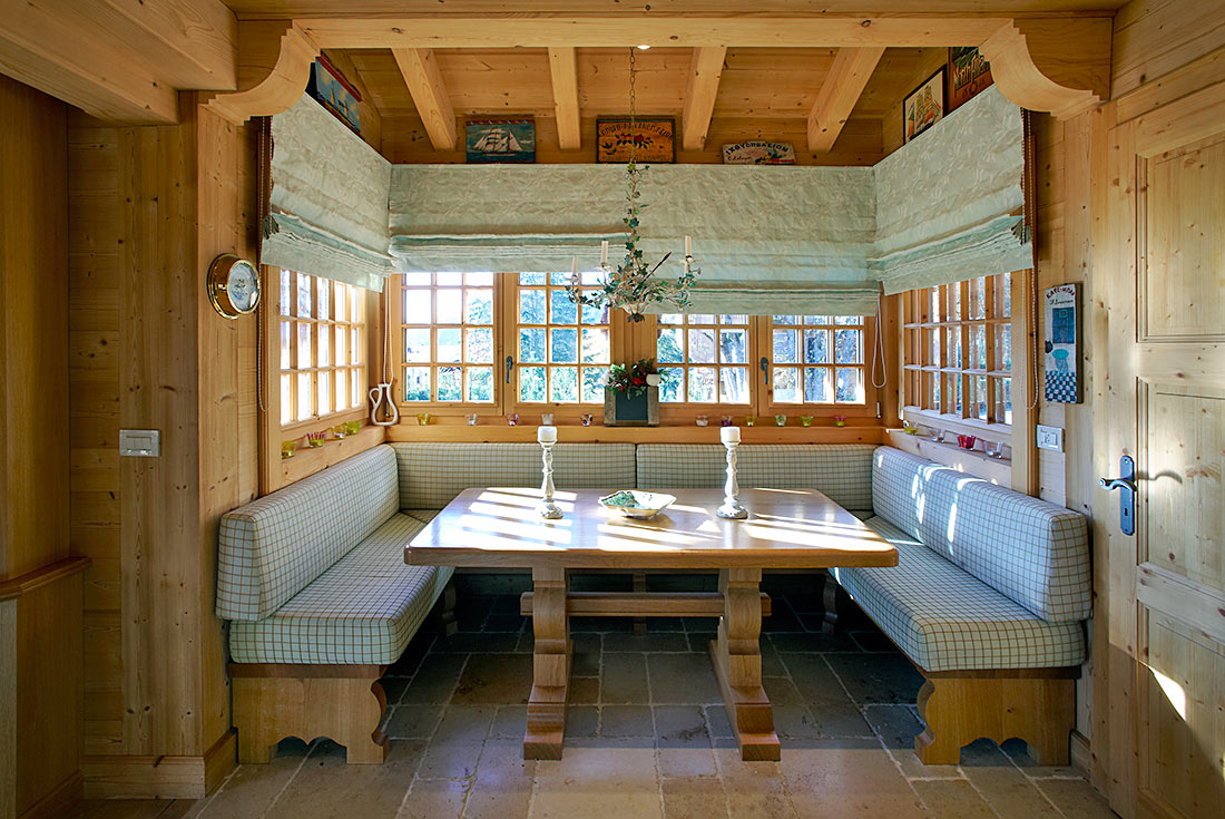 Interior decoration for a warmly welcoming chalet  Viquerat Dcoration  Architecture d