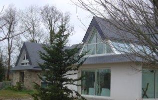 L'OLLIVIER Architecte PONT L'ABBÉ piscine intérieure