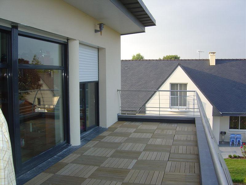 zc 02 toiture monopente pont l 39 abb architecte l 39 ollivier pont l 39 abb architecte l 39 ollivier. Black Bedroom Furniture Sets. Home Design Ideas